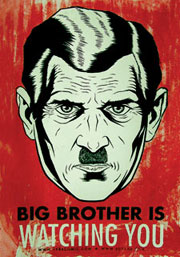 1984-Big-Brother watching you