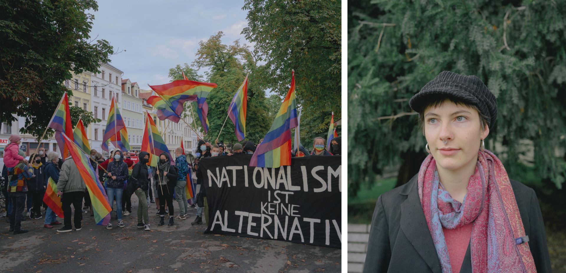 Allemagne manif contre l-AfD-goerlitz1