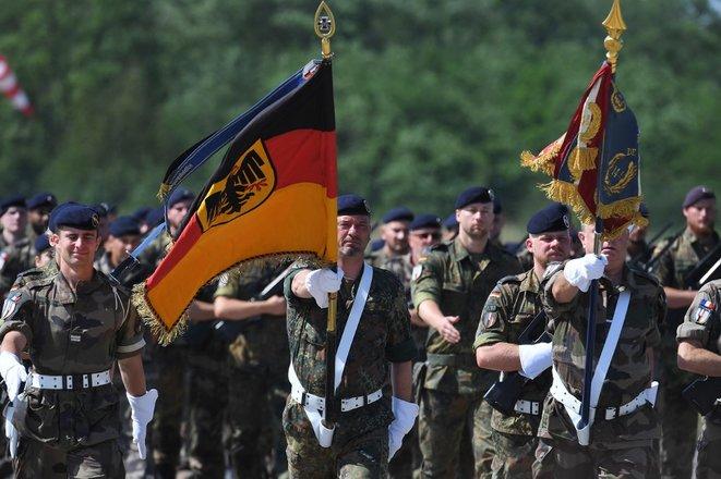 Allemagne militaires de la brigade franco-allemande