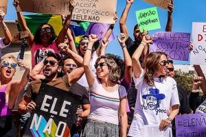 Brésil manif solidarité
