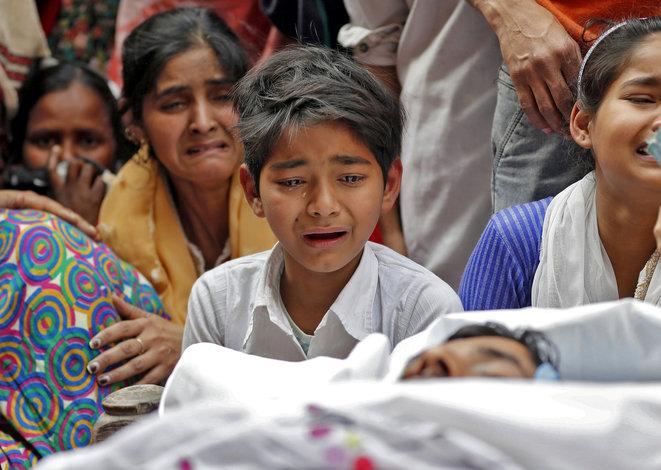 Indes, funérailles musulmans