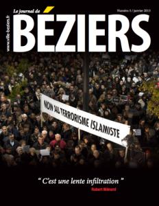Le journal municipal de Béziers de janvier 2015.