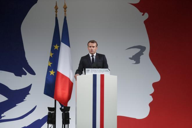 Macron mis en scène