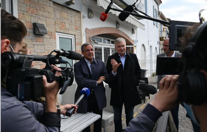 Mariani et Jp Garaut RN Occitanie