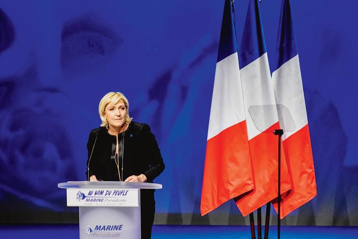 Marine le Pen, discours lançant sa campagne à Lyon