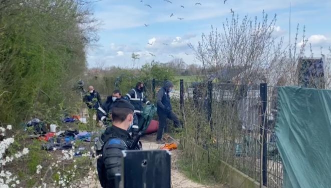 Migrants évacuatiojn camp Calais