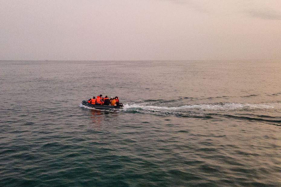 Migrants tentative de traversée de la Manche