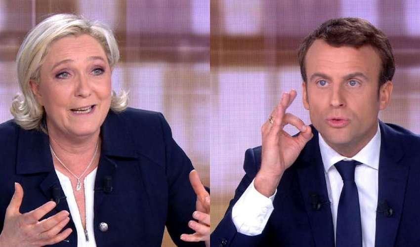 Présidentielles 22 Duel Macron - MLP l-écart se resserre
