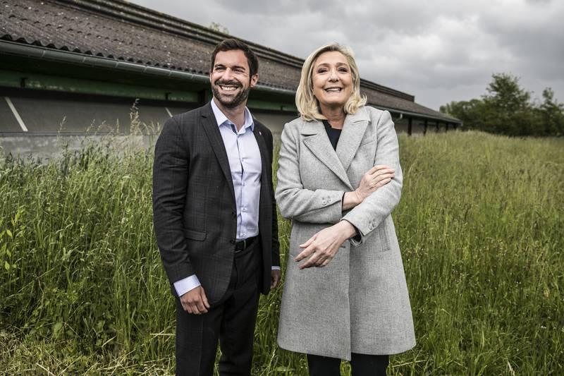 Régionales Juien Odoul ,, czndidat région Bourgogne Franche Comté, et MLP le 25 mai dernier