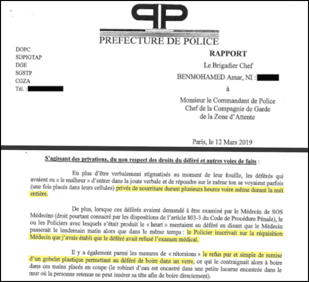 Racisme ds lapolice 2 tribunal_-_rapport_12_mars_-_privations