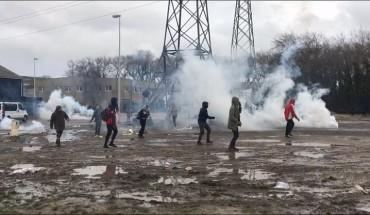 Violences Calais