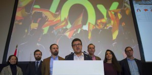 Vox le leasder Franscico Serrano