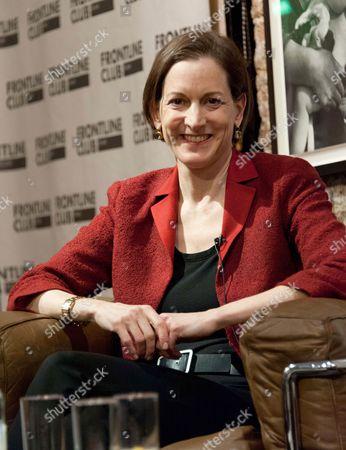 Anne Applebaum book talk, London, Britain - 21 Jan 2013