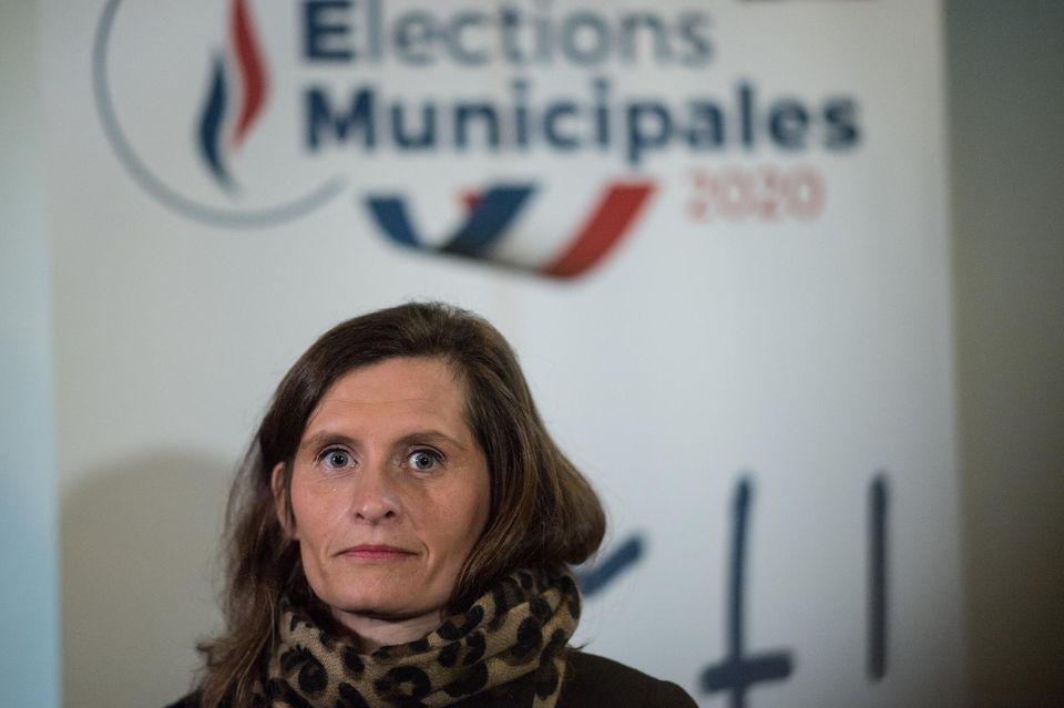 La candidate RN à Nantes Eléonore Revel le 23 janvier dernier