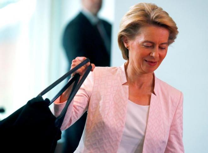 codex Identité EU Ursulaa présidenrte de la commmission