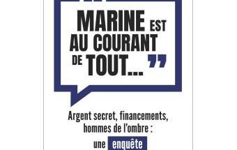 Marine est au courant de tout....