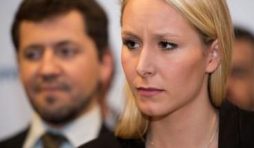 Marion Maréchal le Pen en campagne en PACA