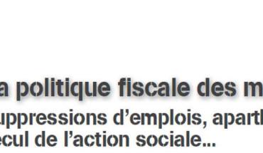 politique fiscale