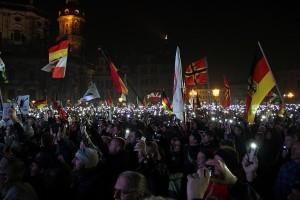rassemblement d'extrême droite